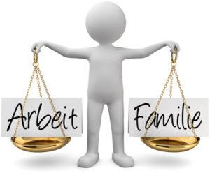 Arbeit Familie Balance Gleichgewicht